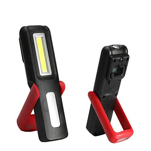 RongDuosi COB Auto Repair Light werklicht, oplaadbaar via USB 180 graden draaibaar scherm, draagbare accu-reparatie voor buitenshuis, product voor buiten