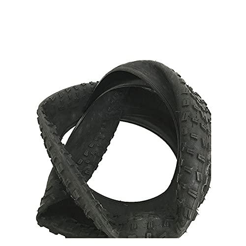 LWHYDZCPJXP - Neumático de bicicleta (26 x 4.0 City Fat Tire neumático de bicicleta ultra ligero de 1560 g de alambre de 100 – 559 piezas de bicicleta (color: verde, tamaño de la rueda: 26 pulgadas)
