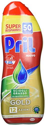 Pril Gold Gel vaatwasser, vetoplosser, afwasmiddel met actieve vetoplosser, 50 wasgoed, 900 ml parent 900 ml