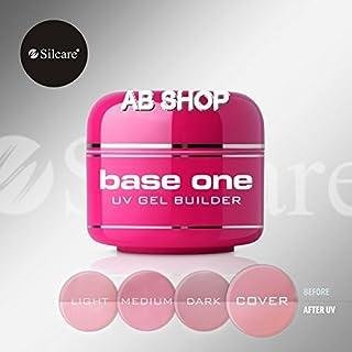Base Silcare One Base de gel para UV ideal para manicura francesa 50g