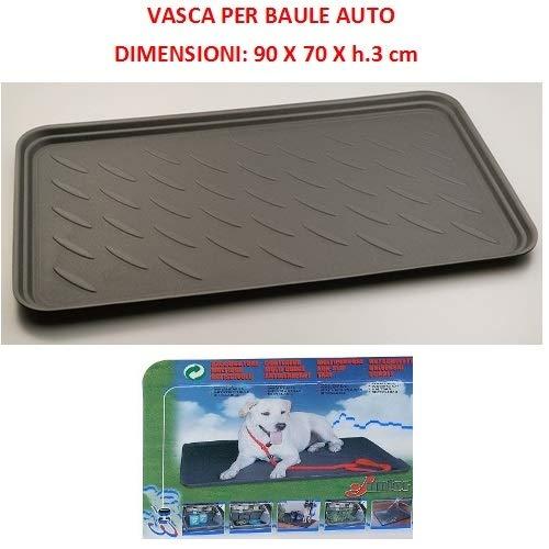 Compatibel met Volkswagen Polo stamtas voor auto's, waterdichte muts, geschikt voor het vervoer van honden en huisdieren, universele schuiver 90 x 70 x 3 cm.
