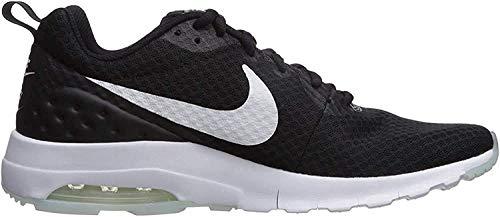 Nike Women's Air Max Motion LW Running Shoe, Black/White, 9 M US