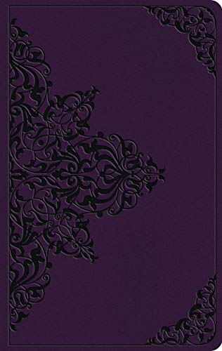 ESV Large Print Value Thinline Bible (TruTone, Lavender, Filigree Design)