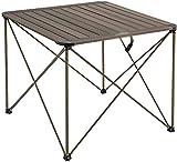 Mesa Plegable Portatil Camping Mesa de camping portátil Mesa plegable de aluminio ligero fácil de montar para picnics de camping al aire libre en la playa, con bolsa de transporte(Color:Gold;Size:69