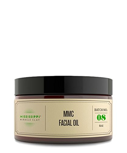 Mississippi Miracle Clay Mmc Facial Oil, 4oz
