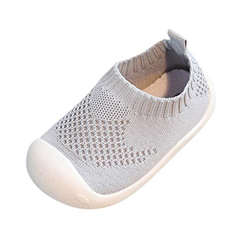 VJGOAL babyschoenen, hoge kwaliteit, voor meisjes, jongens, baby's, kleinkinderen, lief, vliegend weven, sport, zachte bodem, elastische doek, vrijetijdsschoenen