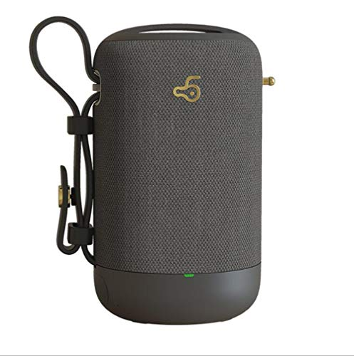 FENGFENGGUO Bluetooth-Lautsprecher, drahtloser Telefon-Computer-Subwoofer-Auto-kreativer wasserdichter Karten-Ton im Freien,Gray