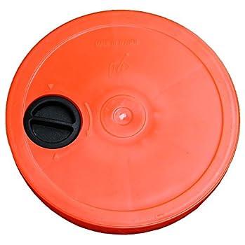Agility Sport pour Chiens - Socle Multi-Fonctions remplissable avec Cerceau Ø ca. 50 cm, Couleur: Orange - 1x xsR50o