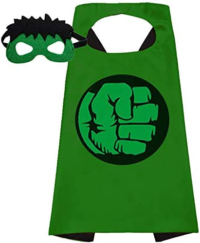 Superhero Capes and Mask for Kids Superhero toys And Superhero Costumes Party Best Kids Gifts product image