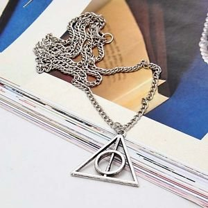 unbrand Harry Potter Collection 2014 New Harry Potter Deathly Hallows Necklace Wizarding World Gift Cosplay - Great Value