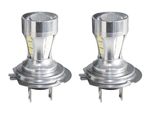 Simoni Racing HL7 Lampe LED H7 avec Lenticulaire, Set de 2