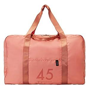 [ミレスト] ボストンバッグ 折りたたみバッグ 45L MLS526 コーラル