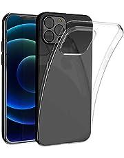 opamoo Hoesje voor iPhone 12 /iPhone 12 Pro (6.1''),Clear Case voor iPhone 12 Flexibele TPU Siliconen [Anti-kras] [Ultra Dunne][Schokabsorptie] Hoesje Cover voor iPhone 12 /iPhone 12 Pro -Transparant
