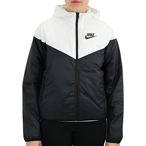 Nike Damen Sportswear Windrunner Synthetic-Fill Jacke Weiß M (40-42)