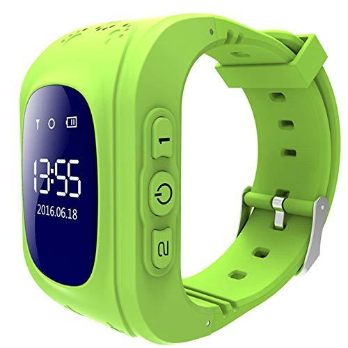 Kids Smart Watch SmartWatch Podómetro Reloj Deportivo Soporte Multi-Language, Reloj multifunción con Memoria Deportiva, Adecuado para niños,Four