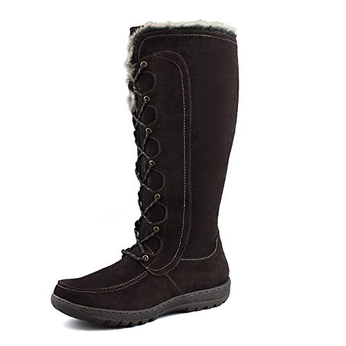 Comfy Moda Women's Warm Insulated Snow Boots Warsaw