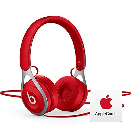 Beats EP Wired Headphones - Red with AppleCare+ Bundle