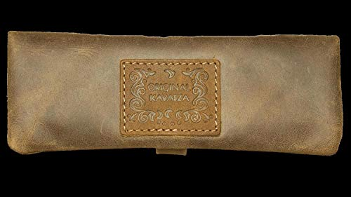 Original Kavatza Mini Joint Tasche, Tabak-Tasche, Feinschnitt-Beutel, Dreher-Tasche | 160 x 400 x 20 mm | 'Buckaroo Deluxe'