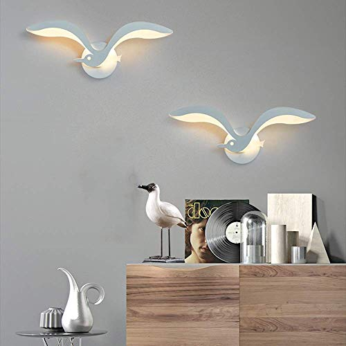 FACAZ Wandlaterne Wandscheinwerfer Nordic Minimalist Modern Creative Nachttisch Wohnzimmer Flur Essterrasse Treppe Wandlampe LED Wandlampe 35 * 15cm warm