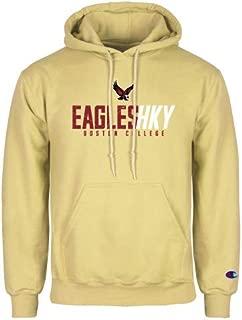 Boston College Champion Vegas Gold Fleece Hoodie 'Hockey Ice Texture'