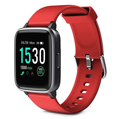 profesional ranking Glymnis Smart Watch IP68 Pulsera impermeable para smartwatch con pulsómetro … elección