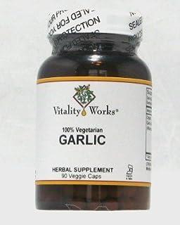 Garlic Vitality Works 90 VCaps