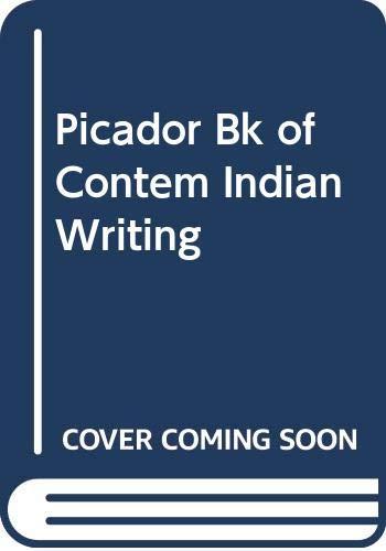 Picador Bk of Contem Indian Writing