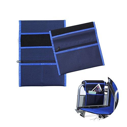 Walker Bags para silla de ruedas scooter eléctrico viaje bolsa de transporte...