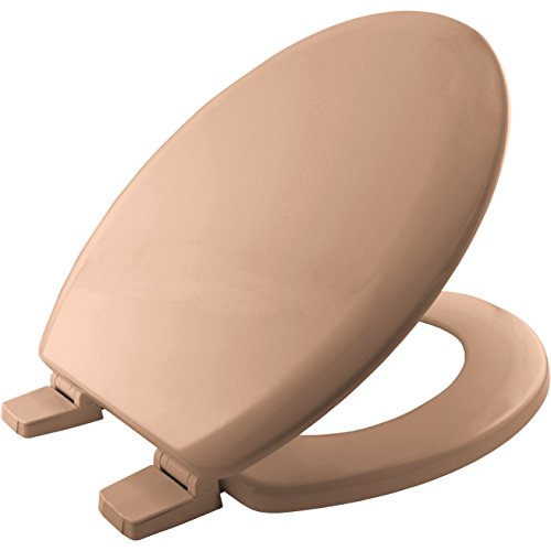 Bemis Chicago STA-TITE 5001AR toiletbril, van vormhout, met kunststof scharnieren, roze