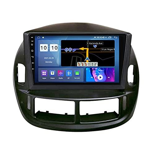 ADMLZQQ Android 10.0 Estéreo Automóvil Navegación GPS para Toyota Estima ACR30 2004, Pantalla Táctil De 9 Pulgadas, Bluetooth Carplay FM Am USB RDS DSP Cámara Trasera Ventilador,M300s 8core 3+32g