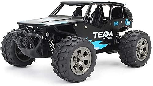 Moerc Todo Terreno de Alta Velocidad Bigfoot Crawler Buggy 1/18 Scale 2WD 2.4G Control Remoto Racing Car Electric RC Coche Escalada Monstruo Camión Recargable Vehículo para niños