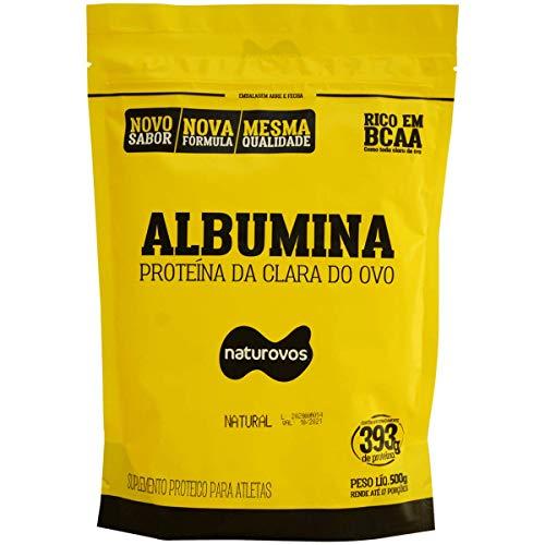 Albumina - Refil, Naturovos, 500G