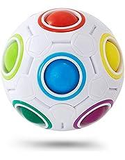 Rainbow Ball Magic Cube 12 Agujeros Magic Rainbow Ball Puzzle