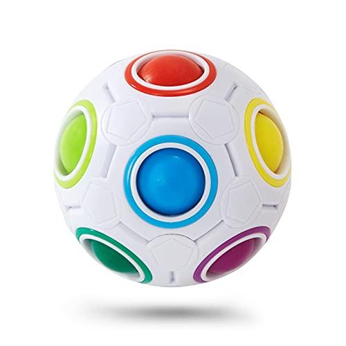 Vdealen Desafío de La Bola del Rompecabezas,Juego de Combinación de Colores (12 Hoyos)