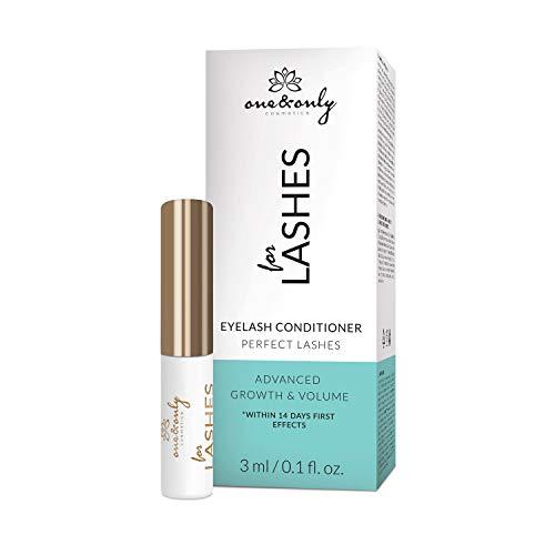 One&Only Cosmetics FOR LASHES, PERFECT, EYELASH CONDITIONER, 3 ml, Advanced Growth & Volume, Conditioner, Wimpern-Conditioner, Wimpernserum, sichtbare und schnelle Effekte, Wimpernstärkung