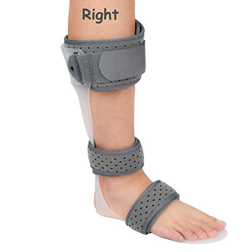 AFO Brace Medical Ankle Foot Orthosis Support Drop Foot Postural Correction Brace (Right/L)