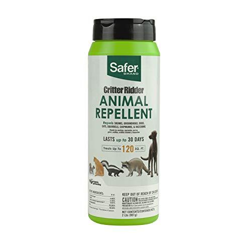 Safer Brand 5926 Critter Ridder Animal Repellent Granules-2 LB