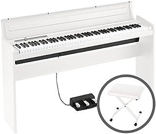 KORG コルグ/LP-180 WH 椅子セット ホワイト 電子ピアノ