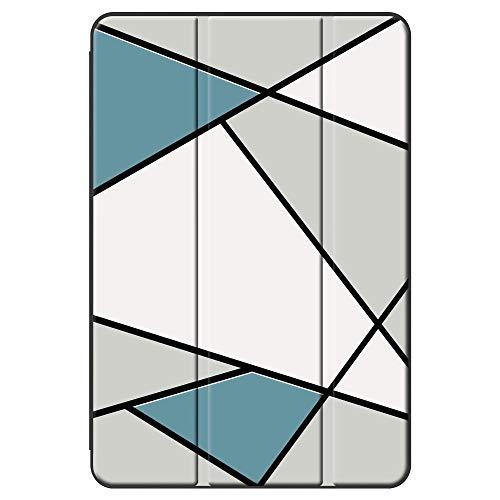 BEAFACE Cases for iPad 4/iPad 3/iPad 2/iPad Case, Drop Resistant PU&PC Dustproof Ultra Slim Tablet Covers for iPad 4/iPad 3/iPad 2/iPad Cover-Triangle 1