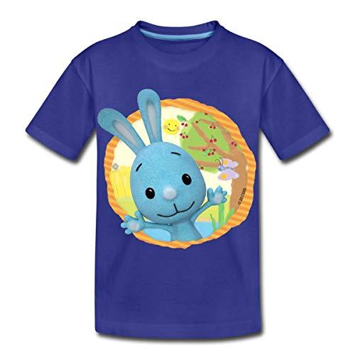 KiKANiNCHEN Kaninchen Sommertag Am See Kinder Premium T-Shirt, 98-104, Königsblau