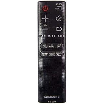 ALLIMITY AH59-02733B T/él/écommande remplac/ée pour Samsung Soundbar HW-J4000 HW-JM4000C HW-K350 HW-K355 HW-K360 HW-K450 HW-K550 HW-K651 HW-KM37 HW-KM39 HW-KM45C