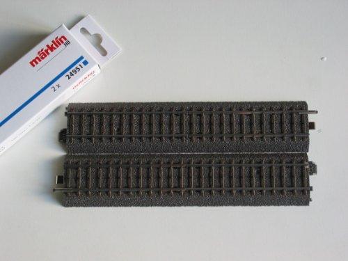 Märklin H0 24951 C-Gleis Übergang zum M-Gleis, Set mit zwei Gleisen