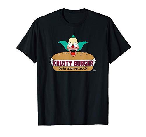 The Simpsons Krusty the Clown Burger Camiseta