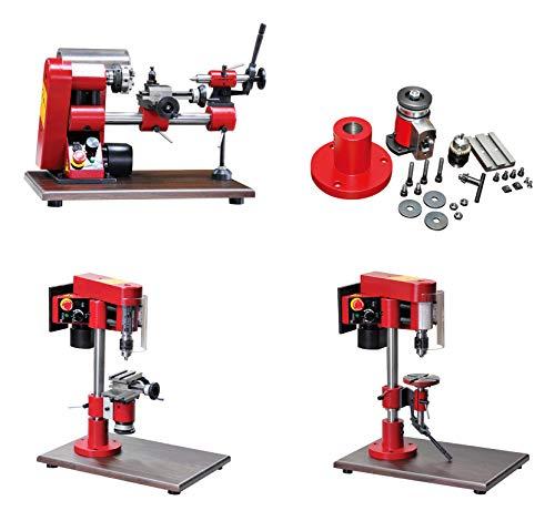 Compa Transform+Kit Drehmaschine Säulenbohrmaschine