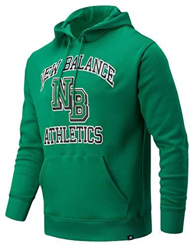 New Balance Athletics Varsity Pack Hoodie, Verde, L