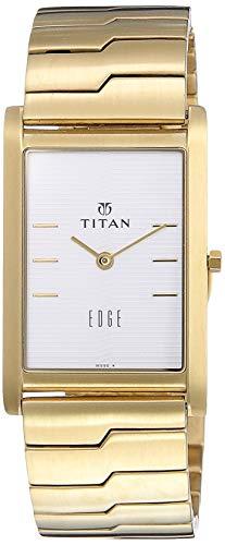 Titan Analog Champagne Dial Men's Watch-NH1043YM01
