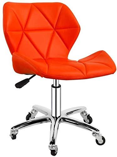 Redaction barkruk van PU-leer | bureaustoel thuis | draaistoel | woonkamer & spa stoel | barstoel met wieltjes