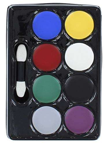 Halloween Horror 8 Colour Make Up Palette From Henbrandt