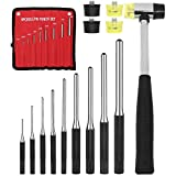 9 Piece Roll Pin Punch Set with ...