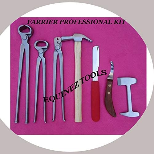 Horse Farrier Tool Kit Ranking TOP7 Grooming Full Complete PCS 8 Ranking TOP2 Professional